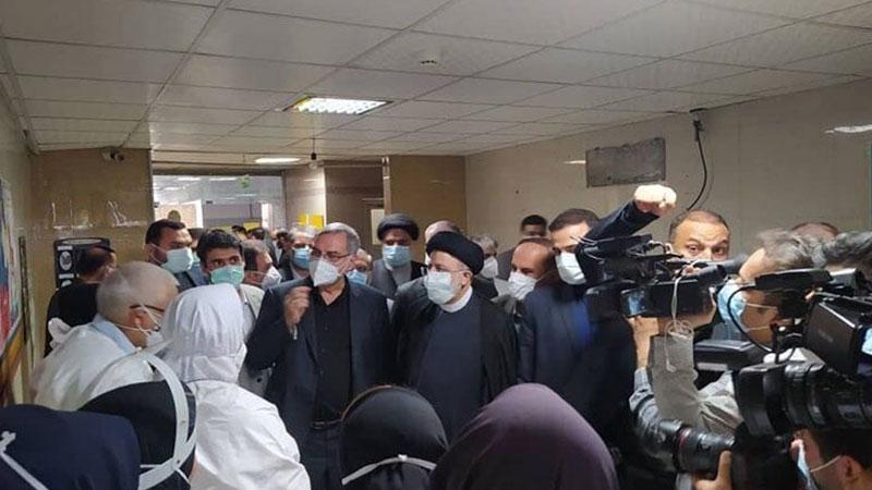 خوزستان أولى جولات السيد رئيسي الميدانية ووعد بالقضاء على البطالة